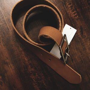Leather belt!